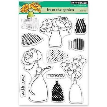 Penny Black Clear Stamp- From the Garden