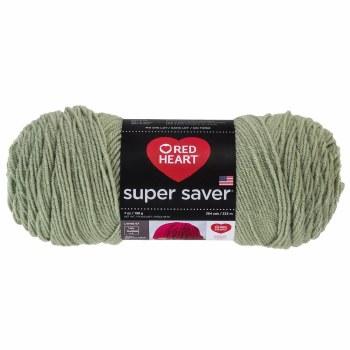 Red Heart Super Saver Yarn- Frosty Green