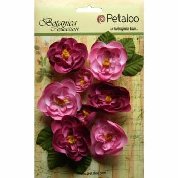 Botanica Ranunculus Embellishments- Fuchsia