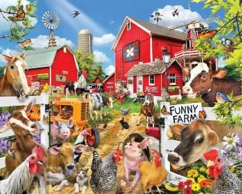 Funny Farm- 1000 Piece Puzzle