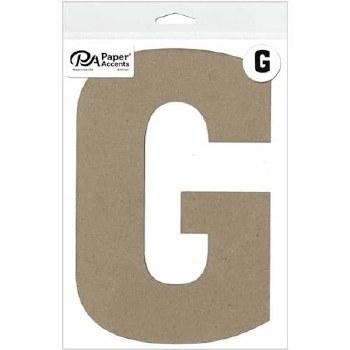 "8"" Chipboard Letter- G"