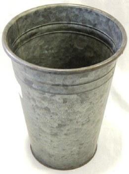Galvanized Planter - Dark Zinc