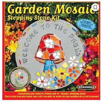 Stepping Stone Kit- Garden Mosaic