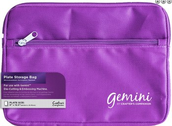 Gemini Purple Gemini Plate Bag