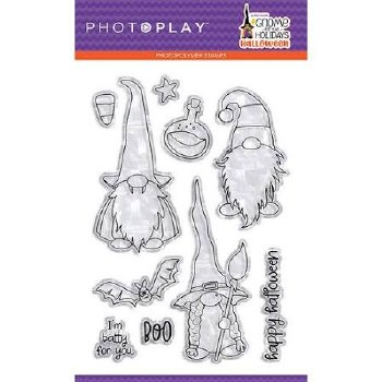 Gnome for Halloween Stamps/Dies- Clear Stamp Set