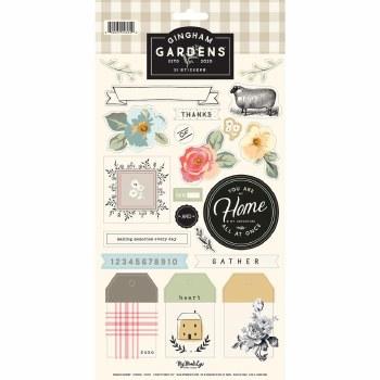 Gingham Gardens Sticker Sheet