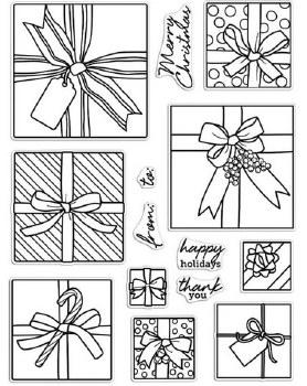 Hero Arts Clear Stamp Set- Peek-A-Boo Gifts