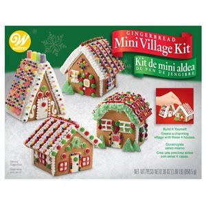 Gingerbread Kit- Mini Village