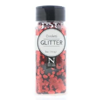 2oz. Glitter- Chunky Red