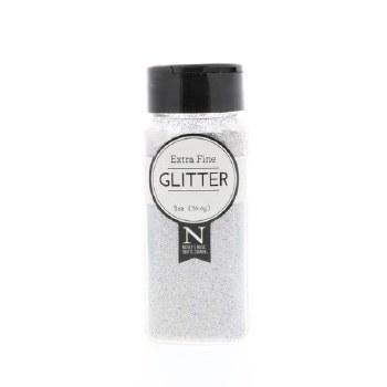 2oz. Glitter- Extra Fine Iridescent Silver