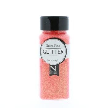 2oz. Glitter- Extra Fine Neon Coral