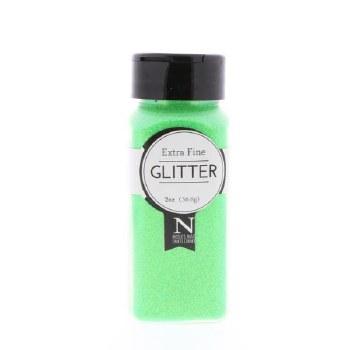 2oz. Glitter- Extra Fine Neon Green