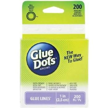 Glue Dots - Lines