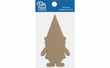 Paper Accents Chipboard- Gnome 6ct
