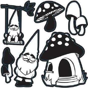 Craft Dies- Happy Gnomes
