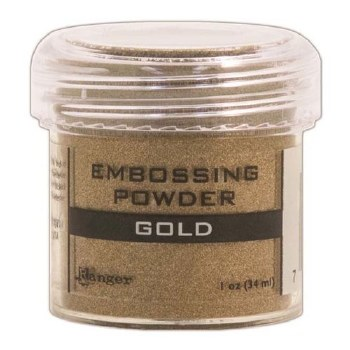 Embossing Powder- Gold