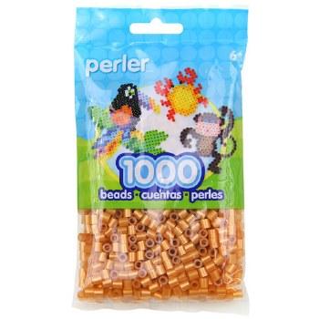 Perler Beads 1000 piece- Gold Metallic