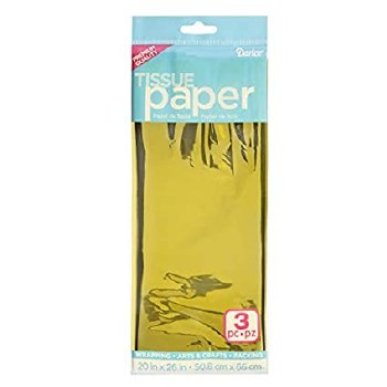 Tissue Paper Sheets - Gold 3ct.