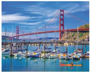 Golden Gate Bridge - 1,000 Piece Puzzle