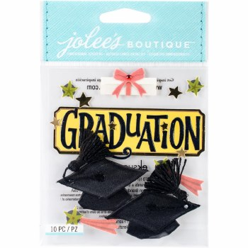 Jolee's Graduation Dimensional Stickers- Graduation
