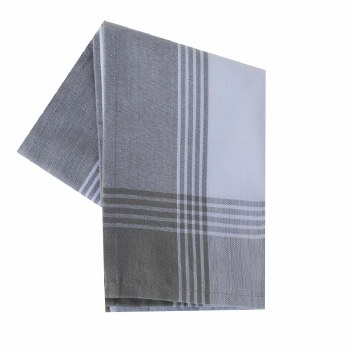 "McLeod Stripe 20""x28"" Tea Towel- Gray"