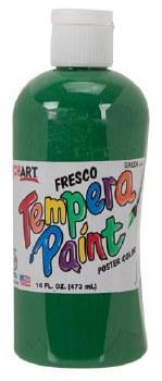 Fresco Tempera Paint, 16oz- Green