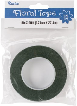 """Floral Tape- 1/2"""" Green"""