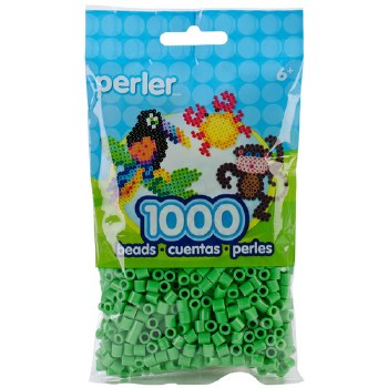 Perler Beads 1000 piece- Bright Green