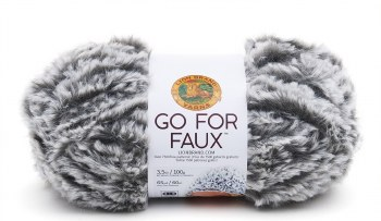 Go For Faux Yarn- Grey Wolf