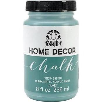 FolkArt Home Decor Chalk Paint 8 oz- Grotto