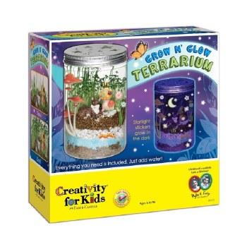 Creativity for Kids Craft Kit- Glow 'n Grow Terrarium