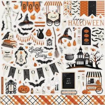Halloween Market Sticker Sheet