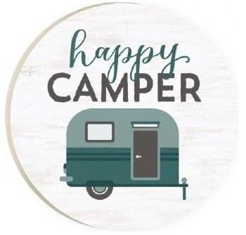 Car Coaster- Happy Camper