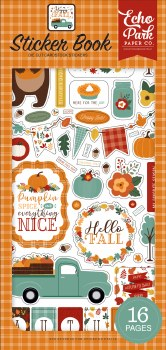 Happy Fall Sticker Book