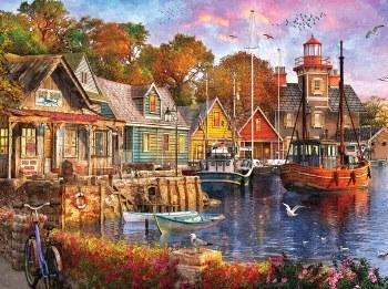 Harbor Evening - 1,000 Piece Puzzle
