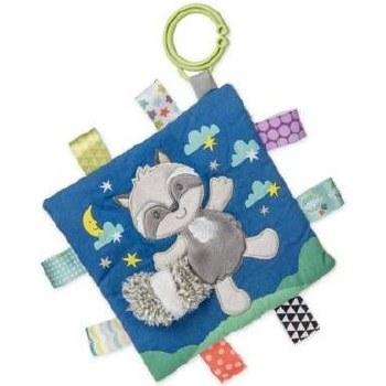 Taggies Crinkle Me Baby Toy- Harley Raccoon