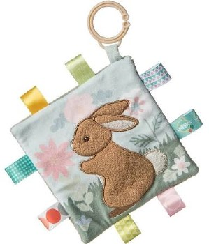 Taggies Crinkle Me Baby Toy- Harmony Bunny