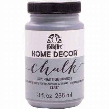 FolkArt Home Decor Chalk Paint 8 oz- Hazy