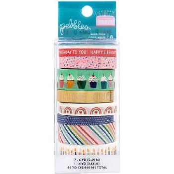Cake Day Washi Tape Pack