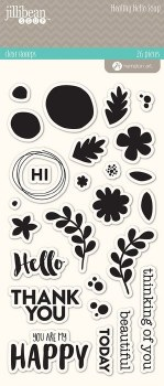 Healthy Hello Soup Clear Stamp