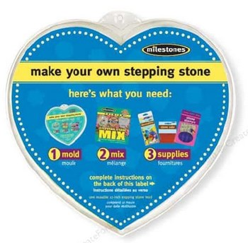 """Stepping Stone Mold- 12"""" Heart"""