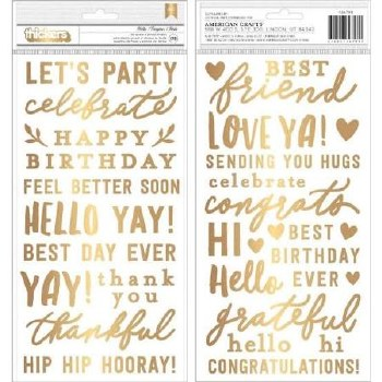 Hey, Hello Thickers- Gold Phrases