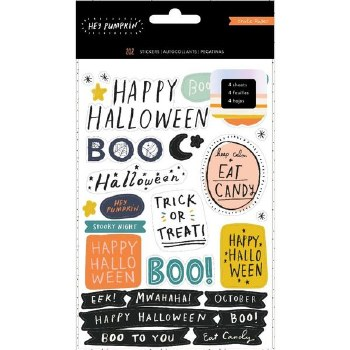 Hey, Pumpkin Sticker Book, 4 Sheets