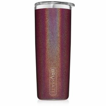 Highball Tumbler 12oz- Glitter Merlot