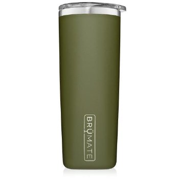 Highball Tumbler 12oz- Matte Olive Green