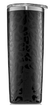 Highball Tumbler 12oz- Onyx Leopard