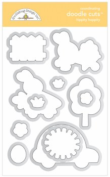 Hippity Hoppity Stamps/Die Cuts- Doodle Cuts