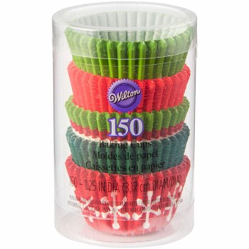 Holiday Baking Cups- Mini Assortment