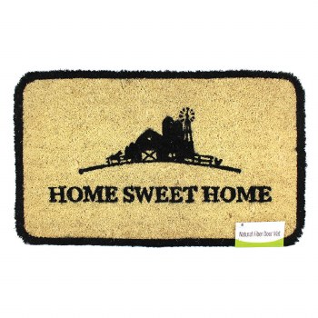 Natural Fiber Door Mat- Home Sweet Home Farm