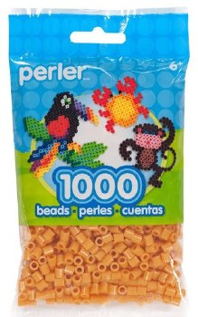 Perler Beads 1000 Piece- Honey